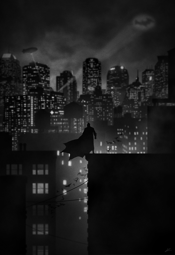 Dark Knight por Marko Manev