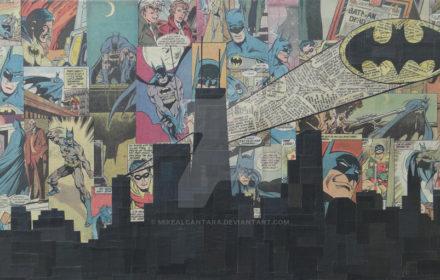"""gotham city"" by mike alcantara"