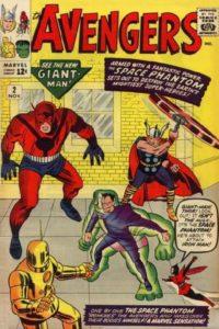 The Avengers #2 (63). Por Kirby.
