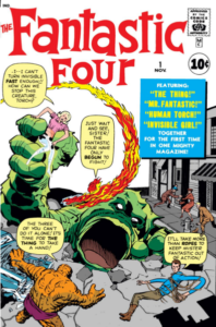 The Fantastic Four #1 (61). Por Kirby.