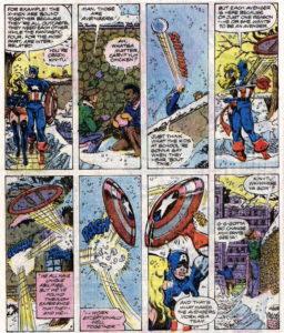 Página de The Avengers #194 (80). Por Pérez.