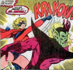 Viñeta de Marvel Team-Up #62. Por John Byrne.