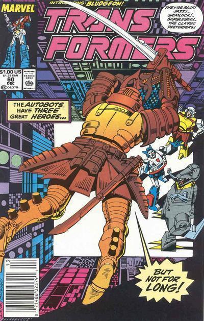 Transformers Vol 1 #60 (89). Por Jose Delbo y Danny Bulanadi.