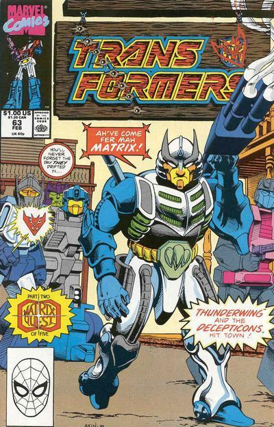 Transformers #63. Por Ian Akin.