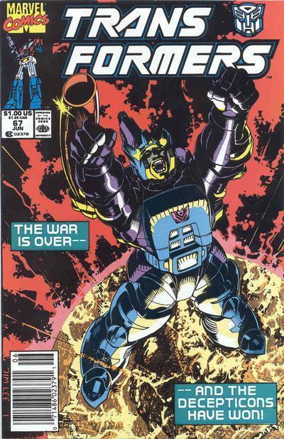 Transformers #67. Por Jim Lee.