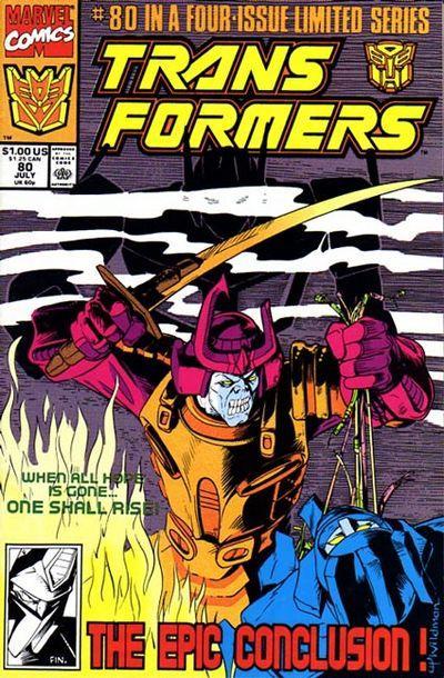 Transformers #80. Por Andrew Wildman.