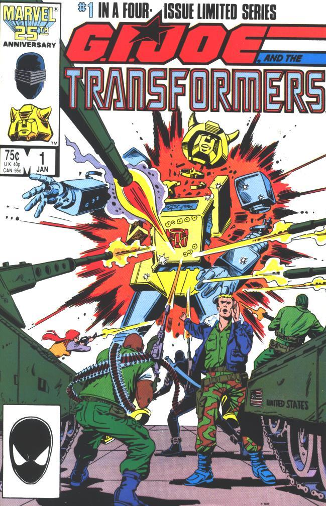 G.I. Joe and the Transformers Vol 1 # 1