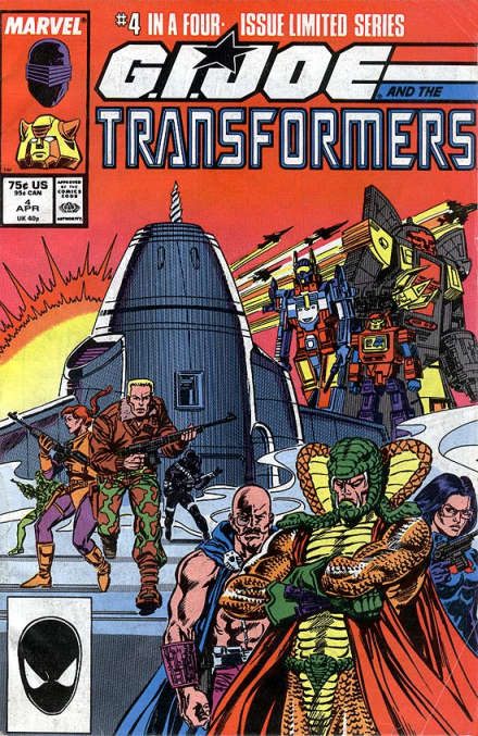 G.I. Joe and the Transformers Vol 1 #4