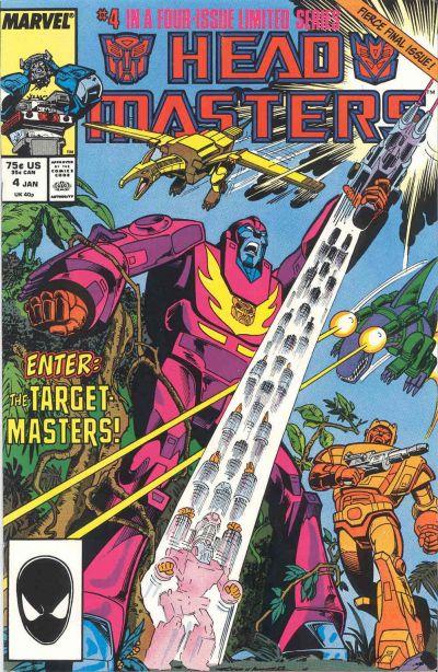Transformers Headmasters Vol 1 #1