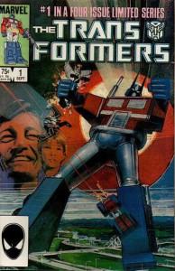 Transformers Vol 1 #1