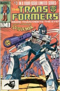 Transformers Vol 1 #3