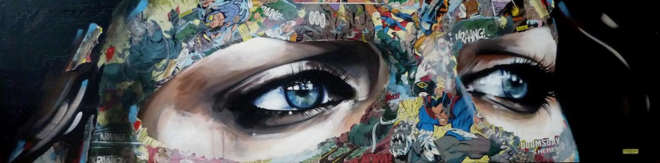 Collage de Sandra Chevrier