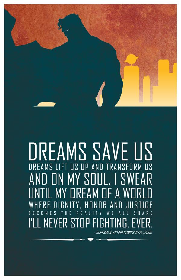 Superman de Adam Thompson.