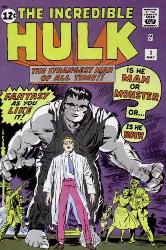 Incredible Hulk #1. Por Jack Kirby