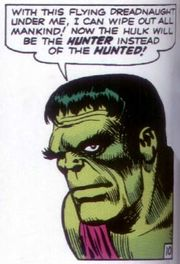 Viñeta de Incredible Hulk #02. Por Jack Kirby
