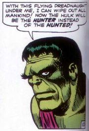 Viñeta de Incredible Hulk #02. Por Jack Kirby