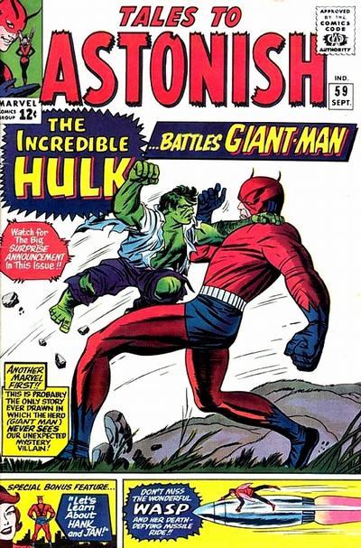 Tales to Astonish #59. Por Jack Kirby