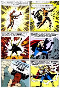 Página de Journey Into Mystery #83. Por Jack Kirby