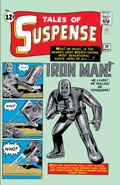 Tales of Suspense #39. Por Jack Kirby y Don Heck