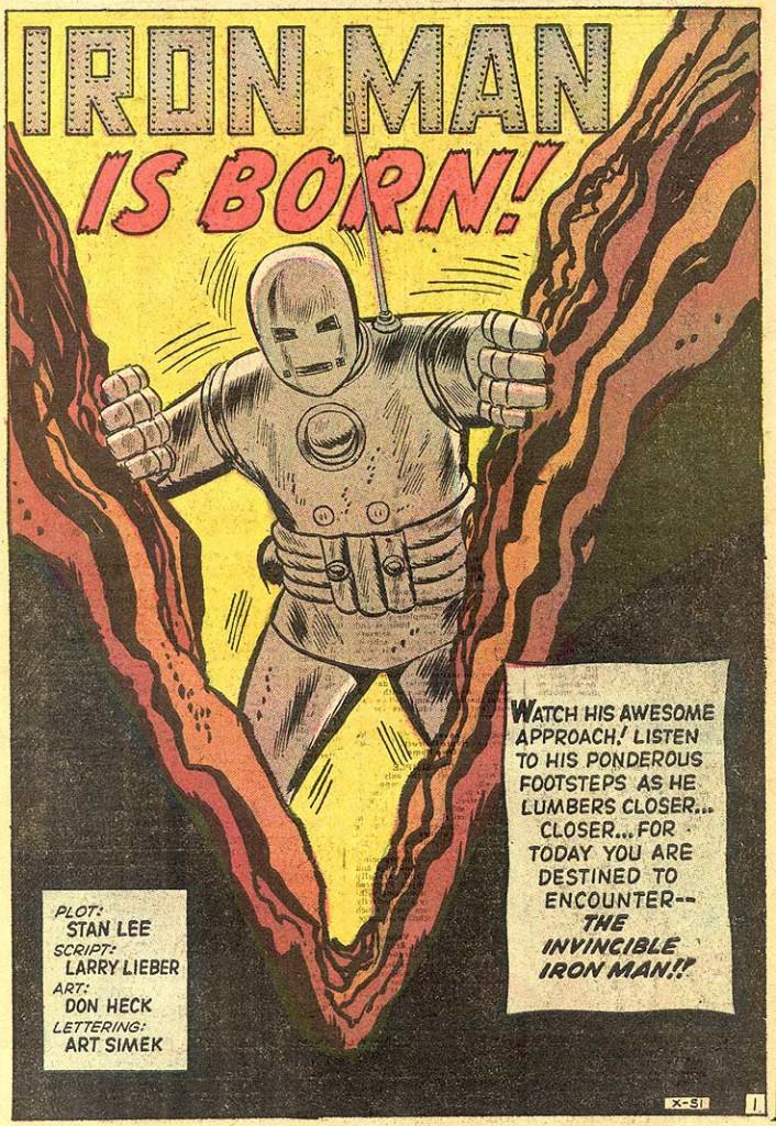 Página del Tales of Suspense #39. Por Don Heck