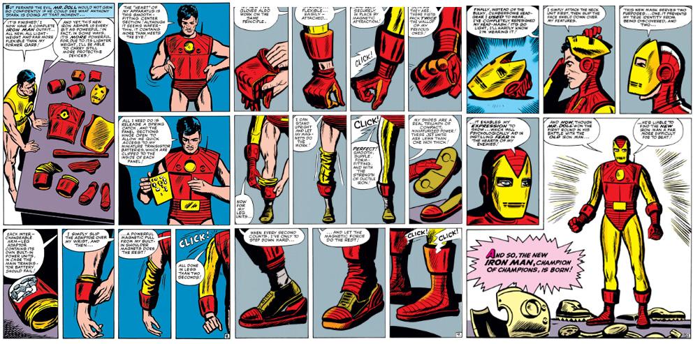 Páginas del Tales of Suspense #48. Por Steve Ditko