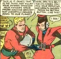 Viñeta del Tales to Astonish #44. Por Jack Kirby