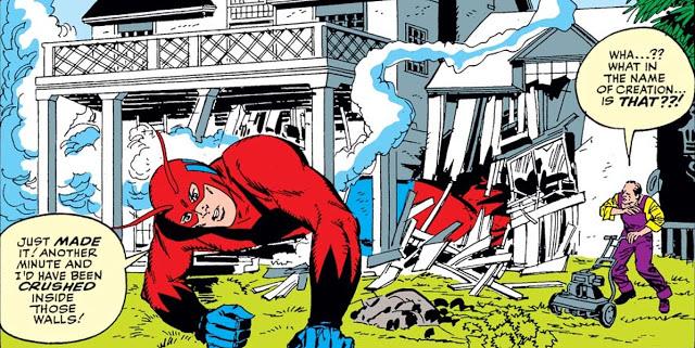 Viñeta de Tales to Astonish #49. Por Jack Kirby