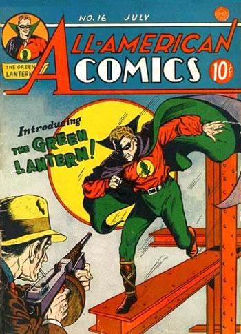 All-American Comics #16. Por Sheldon Moldoff