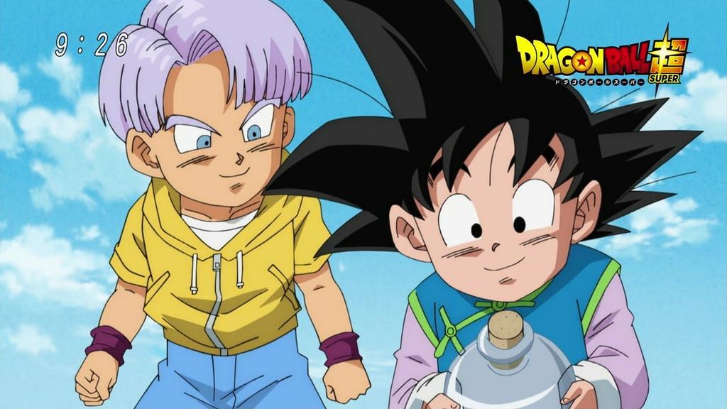 Goten y Trunks el punto de unión entre el pasado y el futuro de DB.