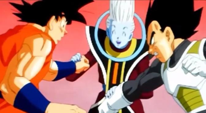 Goku y Vegeta son entrenados por el misterioso Wiss.