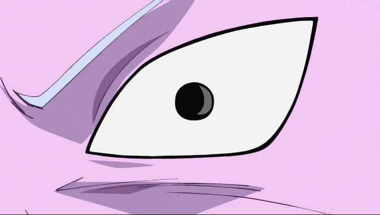 Kibitoshin reflejando que a sorprenderse no le gana nadie.