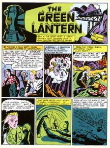 Página de All-American Comics #16. Por Martin Nodell