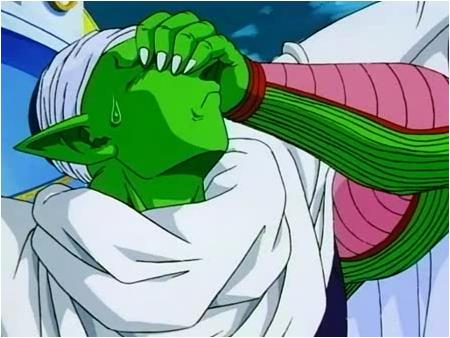 Ni Piccolo da crédito... (imagen extraída de la Saga de Boo)