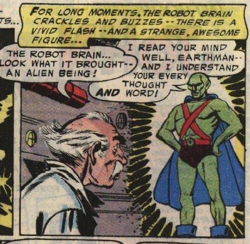 Viñeta de Detective Comics #225.