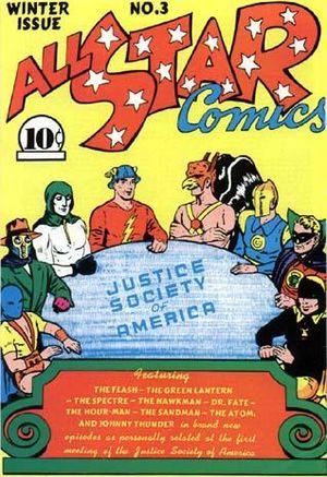 All-Star Comics #3. Por Everett E. Hibbard.