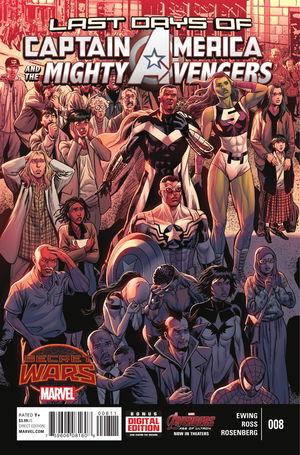 Captain America and the Mighty Avengers #8. Por Luke Ross.