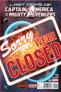 The Captain America and the Mighty Avengers #9. Por Luke Ross.