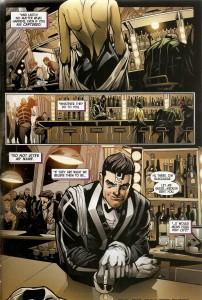 Página de Inhuman -Atillan Rising #1. Por John Timms.