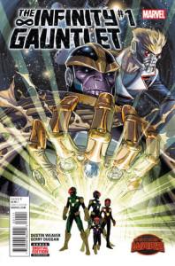 The Infinity Gauntlet Vol.2 #1. Por Dustin Weaver.