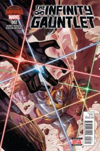 The Infinity Gauntlet Vol 2 #2. Por Dustin Weaver.