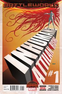 Portada de Inhumans: Attilan Rising #1. Por Dave Johnson.
