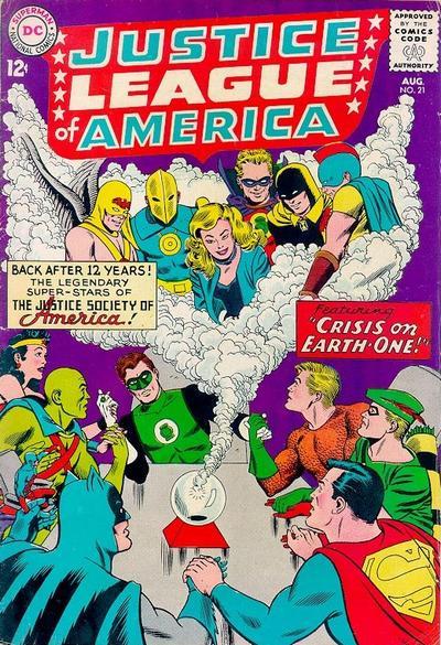 Justice League of America #21 (63). Por Mike Sekowsky y Murphy Anderson.