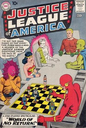 Justice League of America #1. Por Murphy Anderson.