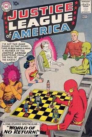 Justice League of America #1. Por Murphy Anderson.