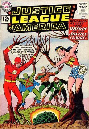 Justice League of America #9. Por Mike Sekowsky y Murphy Anderson.