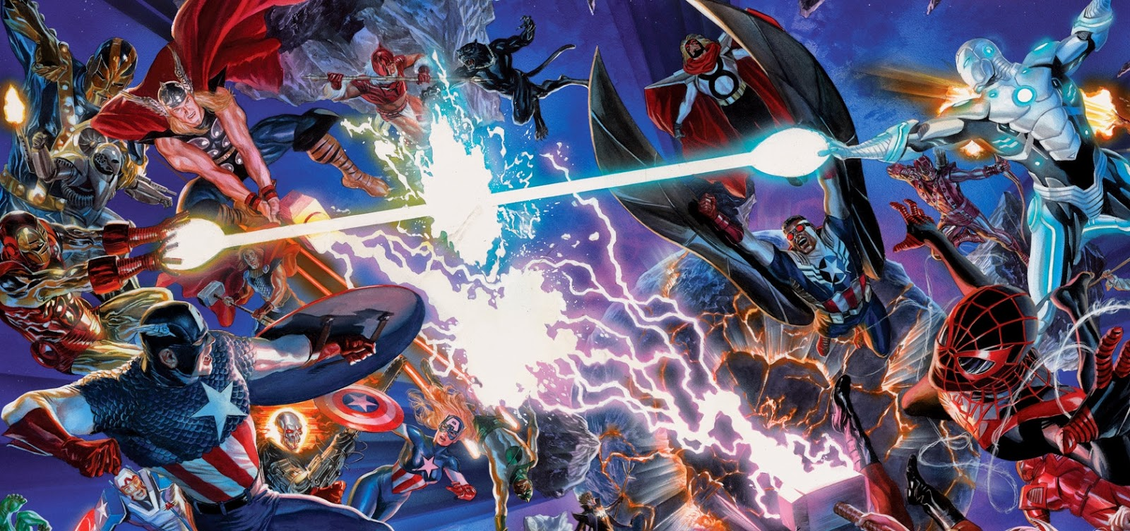 Secret Wars #0. Por Alex Ross.