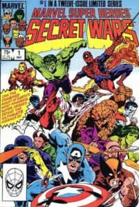 Secret Wars Vol.1 #1. Por Mike Zeck.