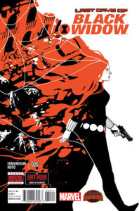 Black Widow Vol 5 #20. Por Phil Noto.
