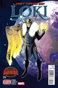 Loki: Agent of Asgard #14. Por Lee Garbett.
