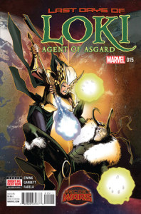 Loki: Agent of Asgard #15. Lee Garbett.